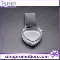 High-End Heart 8GB Mini Crystal USB Flash Drive
