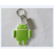 Plastic Key Ring, Custom Promotional Keychain (GZHY-KA-070)