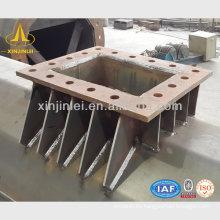 Polígono galvanizado de acero polo eléctrico