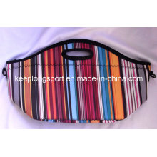 Fashionable Insulated Customized Neoprene Lunch Bag, Cooler Bag