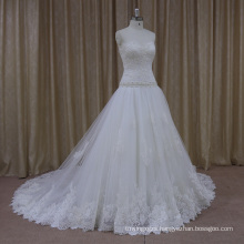 Sequinned Silhouette 2012 Satin Designer Wedding Dresses