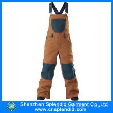 China Wholesale Mens Multi-bolso Bib Pants