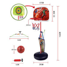 New designs adjustable portable Kids Basketball Hoop Stand set Sport toys for Toddlers Children Indoor and Outdoor games