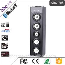KBQ-705 Portable 6000mAh 45W Bluetooth-Lautsprecher mit LED-Licht Hand frei Anruf