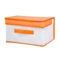 folding full design cardboard storage box