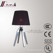 Hotel Decorative Red Table Lamp with Stainless Steel Legs