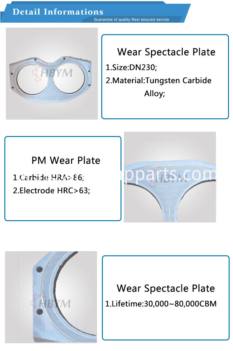 pm dn230 wear plate