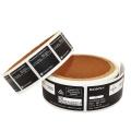 High Quality Paper PVC PET Adhesives Electronics Label