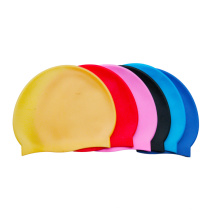 Figure Print Fashion Adults /Children Silicone Swimming Cap