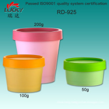 Plastic Facial Mask Jar 50g for Personal Care