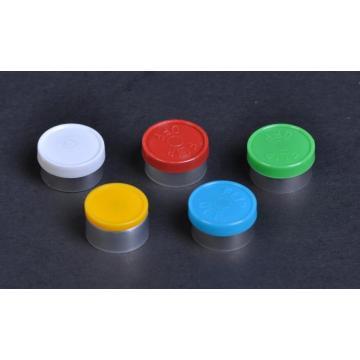 yellow aluminium and plastic cap for oral liquids
