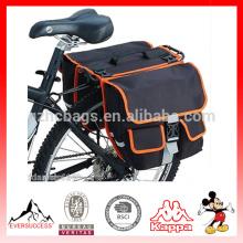Велоспорт велосипед черный задний двойной Бортовой велосипед задний задняя сумка хвост сиденья Паньер