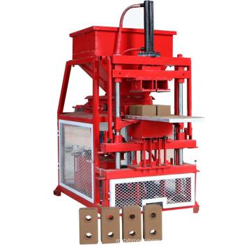 máquina de fabricación de ladrillo rojo automático completo del suelo