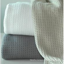 Soft Cotton Waffle Blanket CB-0910