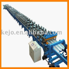 Machine de fabrication de plancher en acier
