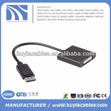 Câble adaptateur DP-DVI-I Mâle à femelle