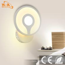 O tipo decorativo simples interno interno diodo emissor de luz de Crytal montou a lâmpada de parede