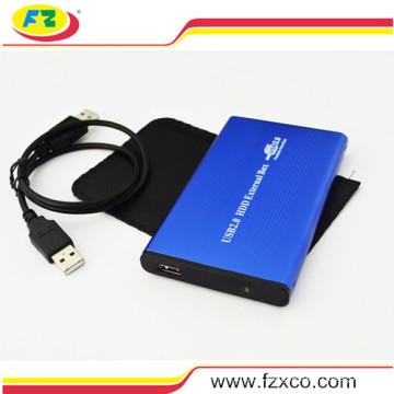 "2.5"" USB2.0 Portable External IDE Hard Drive Enclosure"