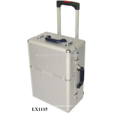 portable aluminum luggage case wholesale from China factory good quality