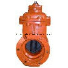Válvulas de globo de ángulo marino estándar JIS de hierro fundido