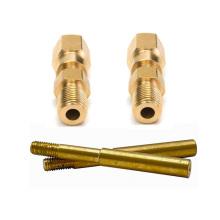 CNC precision engineering brass parts cnc lathe precision machining of brass part
