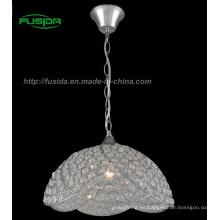 Handcraft la lámpara pendiente cristalina / luz (D-9331 / 1B)