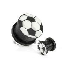 Venta al por mayor Flexible 3D Soccer Ball Silicon Ear Piercing