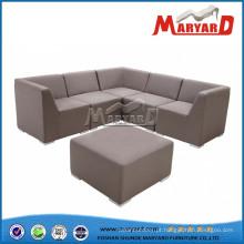 Mobília ao ar livre viva do sofá da tela