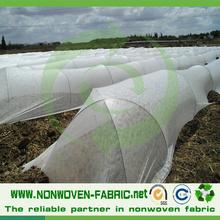 Non-tissé de tissu agricole en couleur blanche