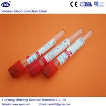 Vacuum Blood Collection Tubes Plain Tube (ENK-CXG-012)