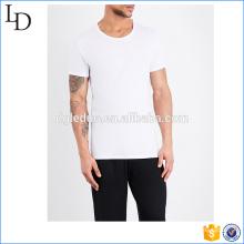 T-shirts légers simples faits sur commande simples super confortables pour les hommes