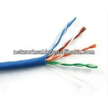 Cat5e 24AWG cabo de rede, largura de banda até 100MHz