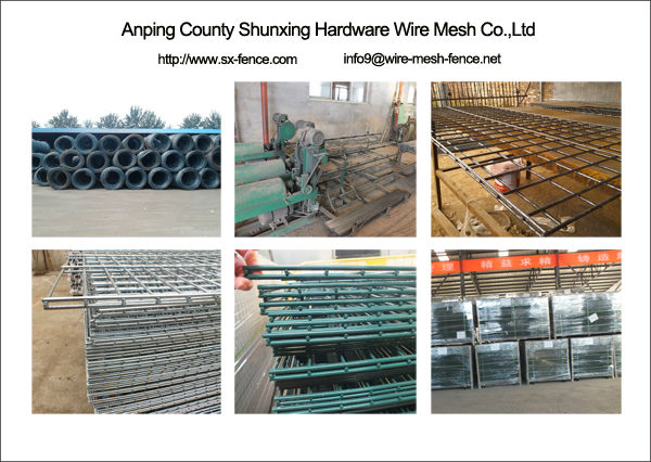 Process of Double Wire Mesh Fence