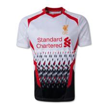 caliente equipo nuevos arrvial fútbol jersey y pantalones cortos para promocional