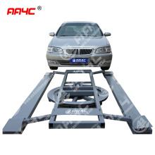 AA4C simple portable rotary car turntable car exhibition platform car floater auto rotary platform 2T capacity