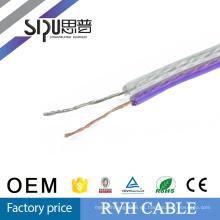 SIPU cable de altavoz de alta calidad del cable de sonido del precio de fábrica de RVH 2.5mm