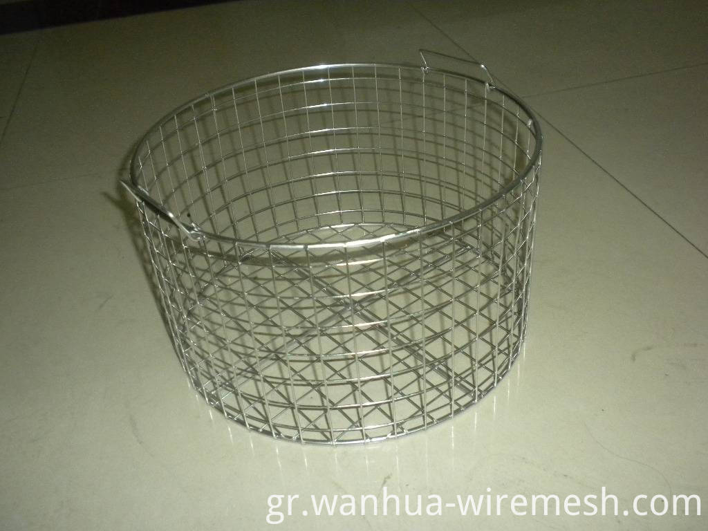 basket stainless steel wire mesh