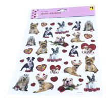 Hohe Qualität niedlichen Hund Mini Papier Aufkleber Dekoration DIY Album Tagebuch Scrapbooking Label Aufkleber Kawaii Briefpapier Label