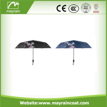 Shape Handle Promotional Stick Straight Rain Umbrella