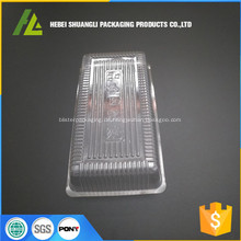 durchsichtiges Plastik-Plätzchen-Tablett