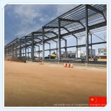 Q235 Q345 Moderno Grande Sapn Steel Frame Building