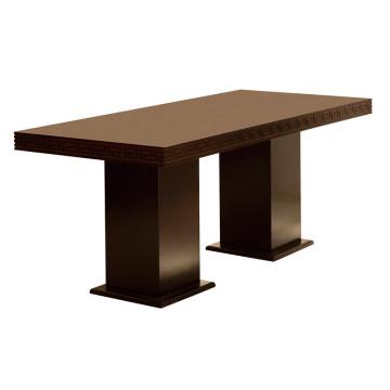 Table de salle à manger de luxe pour mobilier d'hôtel et de réception