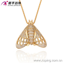 32242 Xuping special designs popular animal bee pendant wholesale fake gold covering jewelry
