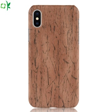 Mode holz muster pc telefon case für iphone