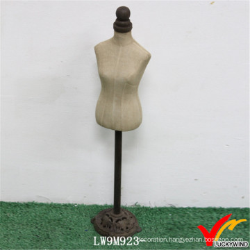 Metal Stand Custom Made Posing Vintage Female Mannequin