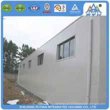 Garage préfabriqué en métal certifié économique à chaud