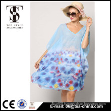 wholesale chiffon sleeve sexy beach dress women beachwear dresses                                                                                                         Supplier's Choice