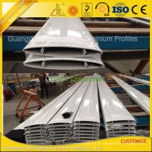Lâminas de alumínio personalizadas revestidas da grelha do pó oval