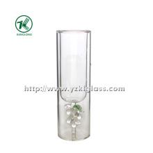Double Wall Water Glass Bottle (dia: 5 *16 110ML)