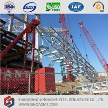 Sistema transportador de estructura de metal ligero prefabricado